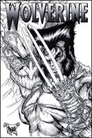 Wolverine and Mojo by roo157