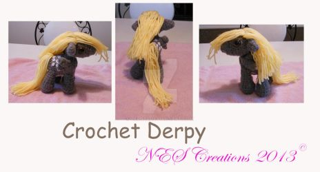 Crochet Derpy by Zero23