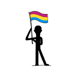Pan Pride Flag by GhostFanGirl101