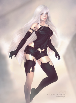Nier Automata A2 by SirensReverie