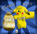 Happy Easter 2011 by kleinespika