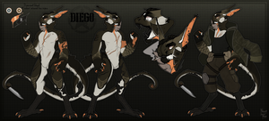 Diego - Sharpshooter (GREM REF) by Negatable