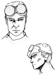 Dr Horrible sketches by UrsulaMin