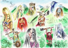 The gods of valhalla by lyness