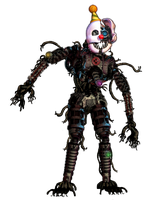 Nightmare Ennard by TheRealPAZZY