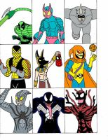 Spider-Man Villains Part 2 by Streetgals9000 by JQroxks21