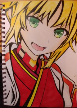 Step by Step : Mordred / Saber #5 (Last step) by MangetsuXFullMoon