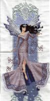 Faerie Queen in Cross Stitch by faeriellament