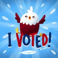 I Voted! by Ceydran