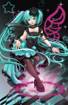 Vocaloid: Miku Hatsune by crystalwings6