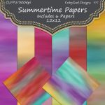 Summertime Papers by CntryGurl-Designs