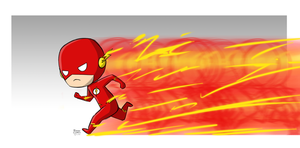 Chibi Flash by mell0w-m1nded