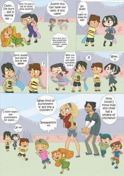 Total drama kids comic pag 7 by Kikaigaku