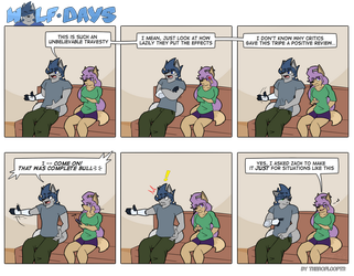 Wolf Days - Muted by TheRoflCoptR
