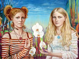 Sisters by asage