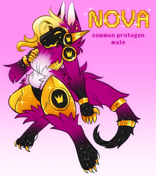 nova the protogen by aphelione