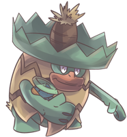 Runpappa | Ludicolo Commission