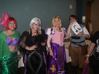 Realms Con 2012- My Fav. Disney Princess Movies by Kabuki-Sohma