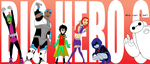 Big Hero 6 as Teen Titans by JIMENOPOLIX