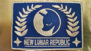 MLP-Fim: New Lunar Republic (Flag Patch) by Shirlendra