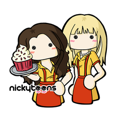 2 Broke Girls by NickyToons