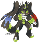 Zygarde Perfecto by WaitoChan