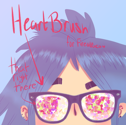 Heart Brush (FireAlpaca) by LilyKatArtist