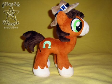 Troubleshoes colt plushie by SunflowerTiger