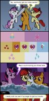 MLP short: Crusaders (spoilers) by FrenkieArt