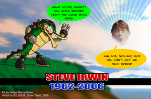 Tribute to Steve Irwin by yuski