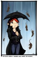 Caught in the Rain by ursulav