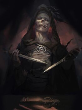 harbringer of skulls 2 by ccornet