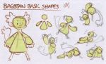 Bara's Guide to Griffians: BB Basic Shapes by Baraayas