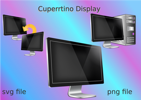 Cupertino Display-'update' by ilnanny