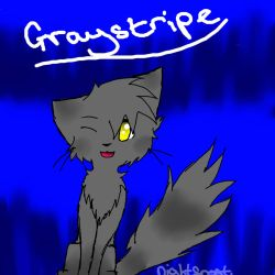 Graystripe  by Nightfrost25