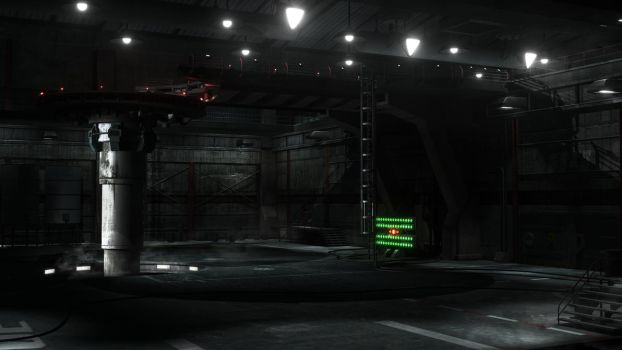 Swat Kats Hangar Render 2 by Xanatos4