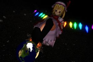 Bigger Flandre, Bigger Problems by Koirvon
