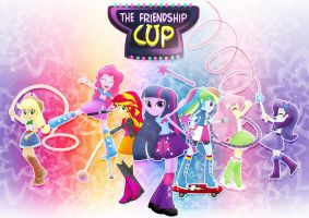 The Friendship Cup_Mane7 by jucamovi1992