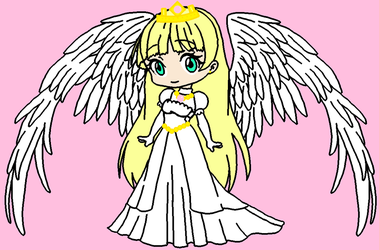 SMC Princess Linda Helios with wings by roseprincessmitia