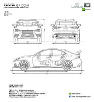 Samsung all new galaxy tab 101 design blueprints by hanif yayan 2014 lexus is f ccs r body kit blueprints by hanif yayan malvernweather Images