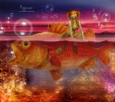 Fish babe by annemaria48