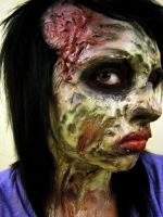 Decaying Zombie by KRSkreations