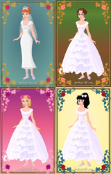 Despicable Me 2 Wedding Heroines by TheLuLu99