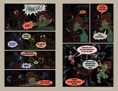 FNAF4 Comic - House Party - Page 09 - 5-26-16 by Mattartist25