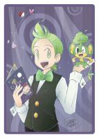 PKMN - Cilan and Pansage 01