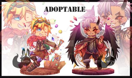 [CLOSED] Adoptable Auction by HalfChe