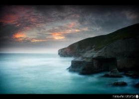 Tunnel Beach 2 by shadowfoxcreative