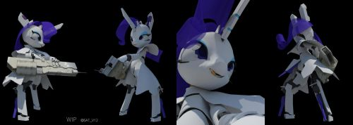 AndroidRarity ModelingWip3 by SATV12