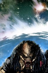 Predator Hunters II Issue #3 Cover by NeerajMenon