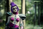 League of Legends' Orianna - waiting by AHu-PL